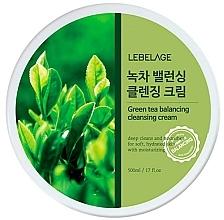 Parfumuri și produse cosmetice Cremă de curățare pentru față - Lebelage Green Tea Balancing Cleansing Cream