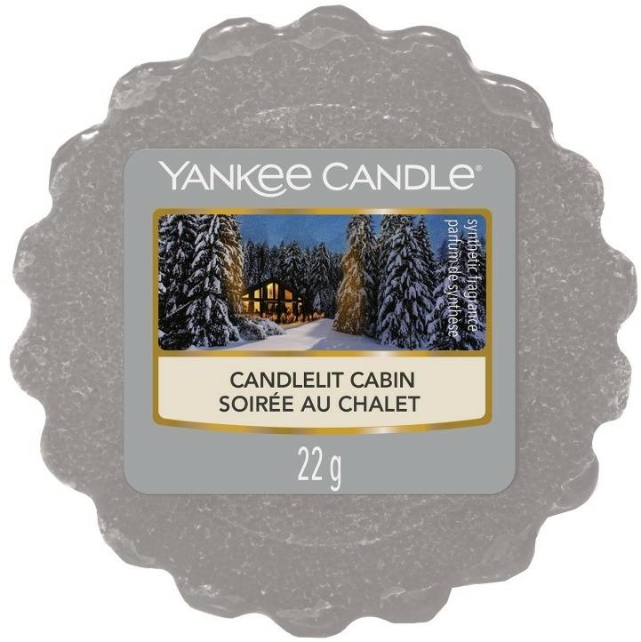 Ceară aromată - Yankee Candle Candlelit Cabin — Imagine N1