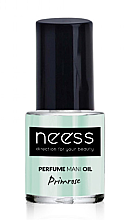 Parfumuri și produse cosmetice Ulei pentru unghii - Neess Perfume Mani Oil Primrose