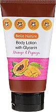 Parfumuri și produse cosmetice Balsam de corp - Belle Nature Body Lotion With Mango & Papaya