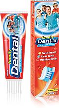 """Parfumuri și produse cosmetice Pastă de dinți """"Protecție complexă și Albire"""" - Dental Family Total Whitening"""