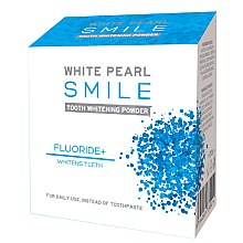 Parfumuri și produse cosmetice Praf cu efect de albire pentru dinți - VitalCare White Pearl Smile Tooth Whitening Powder Fluor+
