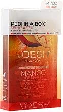 """Parfumuri și produse cosmetice Set pentru pedichiură """"Mango"""" - Voesh Pedi In A Box Deluxe 4 Step Pedicure Mango Delight"""