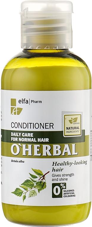 Balsam de păr cu extract de mesteacăn - O'Herbal — Imagine N1