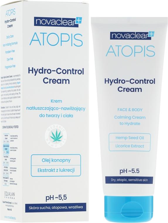 Cremă hidratantă pentru față și corp - Novaclear Atopis Hydro-Control Cream