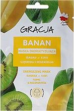 Parfumuri și produse cosmetice Mască de față, banană+kiwi - Gracja Energizing Mask