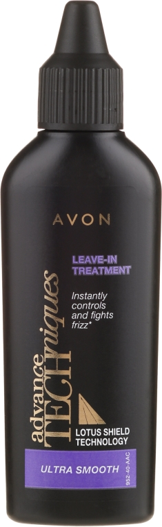 Loțiune pentru păr - Avon Advance Techniques Ultra Smooth Leave-In Treatment — Imagine N1