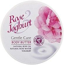 Parfumuri și produse cosmetice Unt de corp - Bulgarian Rose Body Butter Rose Joghurt