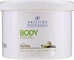 "Parfumuri și produse cosmetice Scrub pentru corp ""Vanilie"" - Hristina Professional Vanilla Body Peeling"