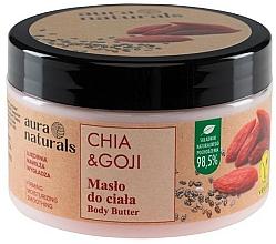 """Parfumuri și produse cosmetice Unt pentru corp """"Chia și Goji """" - Aura Naturals Chia & Goji Body Butter"""