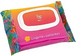 Parfumuri și produse cosmetice Șervețele umede cu sclipici pentru față și corp - Peggy Sage Glitter Wipes