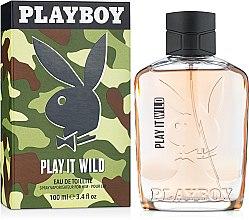 Parfumuri și produse cosmetice Playboy Play It Wild For Him - Apă de toaletă