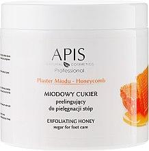 Parfumuri și produse cosmetice Peeling cu zahăr și miere pentru picioare - APIS Professional Honeycomb Exfoliating Honey Sugar For Foot Care
