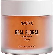 Parfumuri și produse cosmetice Cremă cu petale de trandafir pentru față - Nacific Real Floral Rose Air Cream