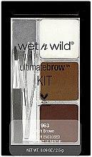 Parfumuri și produse cosmetice Paletă pentru sprâncene - Wet N Wild Ultimate Brow Kit