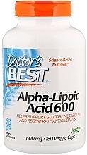 Parfumuri și produse cosmetice Acid alfa lipoic, 600 mg - Doctor's Best Alpha Lipoic Acid