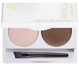 Parfumuri și produse cosmetice Paletă pentru stilizarea sprâncenelor - AA Cosmetics Wings Of Color Brow Designer