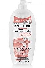 """Parfumuri și produse cosmetice Cremă de duș """"Mărăcini"""" - Byphasse Caresse Shower Cream"""