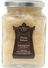 Parfumuri și produse cosmetice Scrub pentru corp - La Sultane De Saba Lotus And Frangipani Flowers Lulur Exfoliant Scrub