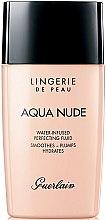 Parfumuri și produse cosmetice Fond de ten hidratant lichid - Guerlain Lingerie de Peau Aqua Nude