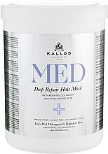 Parfumuri și produse cosmetice Mască profund hidratantă pentru păr- Kallos Cosmetics MED Deep Repair Hair Mask