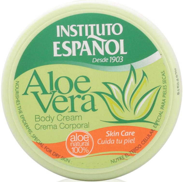 "Cremă de corp ""Aloe Vera"" - Instituto Espanol Aloe Vera Body Cream"