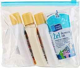 Parfumuri și produse cosmetice Set - Skarb Matki (hand/gel/80ml + oil/80ml + shmp/80ml + soap/80ml)