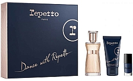 Parfumuri și produse cosmetice Repetto Dance With Repetto - Set (edp/60ml + b/lot/50ml + nail/polish/5ml)