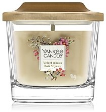 Parfumuri și produse cosmetice Lumânare aromată - Yankee Candle Elevation Velvet Woods