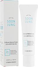 Parfumuri și produse cosmetice Cremă intensivă pentru față - Etude House Soon Jung 2x Barrier Intensive Cream