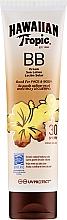 Parfumuri și produse cosmetice Loțiune cu protecție solară pentru corp - Hawaiian Tropic BB Cream Sun Lotion Face And Body Spf30