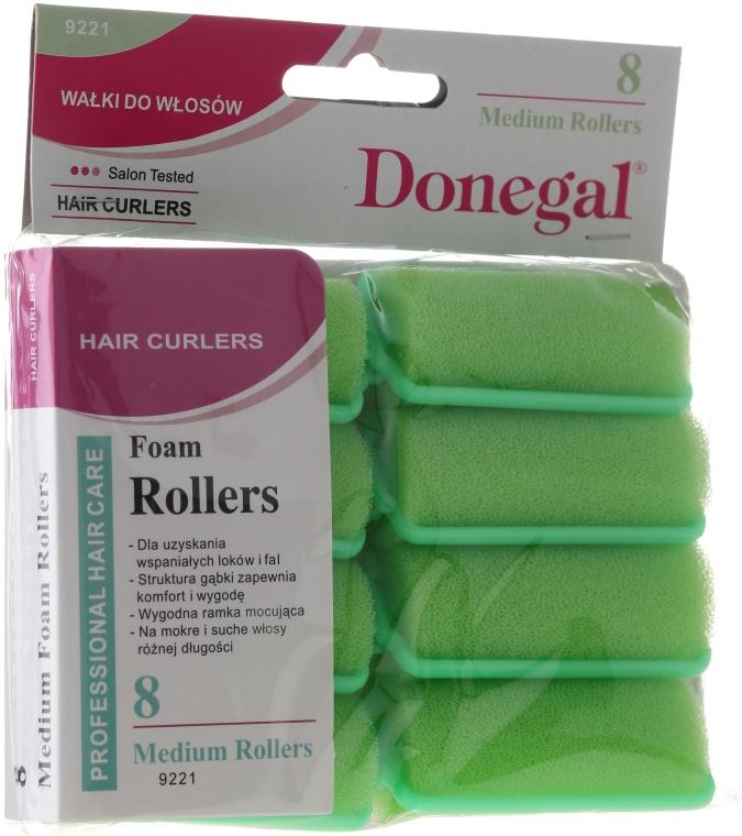 Bigudiuri 25 mm, 8 buc. - Donegal Sponge Curlers