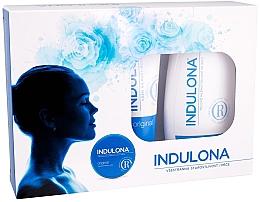 Parfumuri și produse cosmetice Set - Indulona Original (b/milk/250ml + h/cr/85ml + b/cr/75ml)