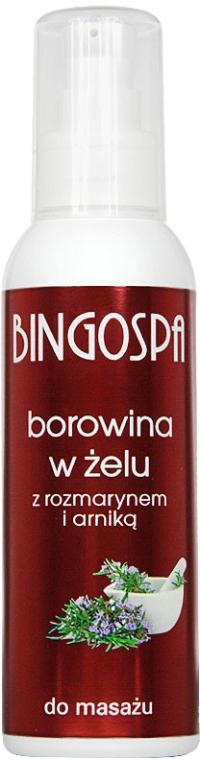 Gel Forte pentru masaj cu extract de rozmarin - BingoSpa — Imagine N1