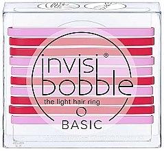 Parfumuri și produse cosmetice Set elastice de păr - Invisibobble Basic Jelly Twist