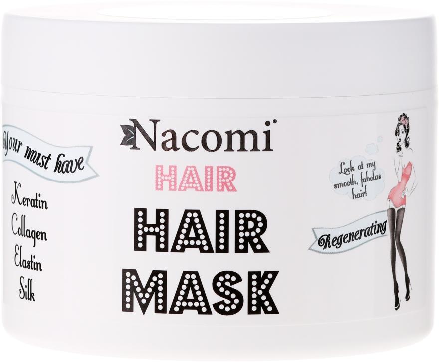 Mască regenerantă pentru păr - Nacomi Regenerating Hair Mask — Imagine N1