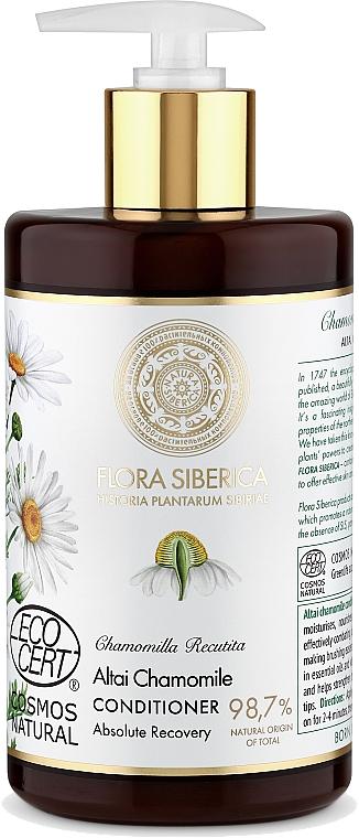 Balsam pentru părul deteriorat - Natura Siberica Flora Siberica Altai Chamomile Hair Conditioner