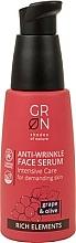 Parfumuri și produse cosmetice Ser facial - GRN Rich Elements Grape & Olive Face Serum