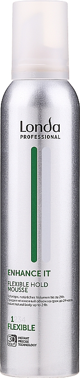 Spumă pentru coafarea părului - Londa Professional Styling Mousse Enhance — Imagine N1
