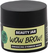 Parfumuri și produse cosmetice Mască pentru creșterea sprâncenelor - Beauty Jar Wow Brow! Enhancing Eyebrow Mask