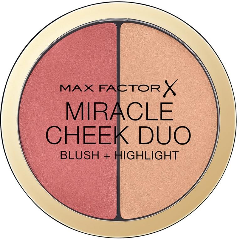Paletă-corector pentru față - Max Factor Miracle Cheeck Duo