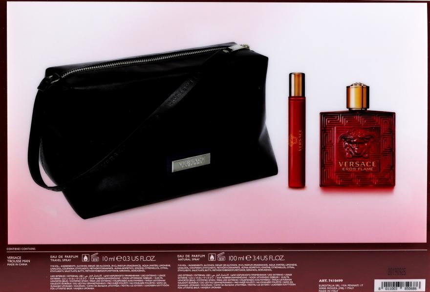 Versace Eros Flame - Set (edp/100ml + edp/10ml + pounch) — Imagine N2