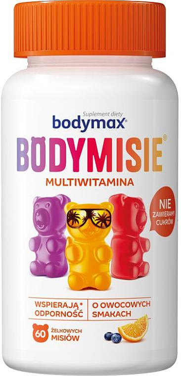 Supliment alimentar, jeleu cu aromă de multivitamine - Orkla Bodymax Bodymisie Jellies For Children Multivitamin