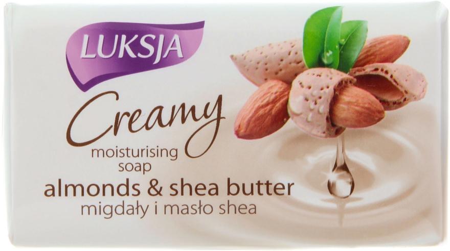 Săpun cu migdale și unt de shea - Luksja Creamy Almond Shea Butt Soap