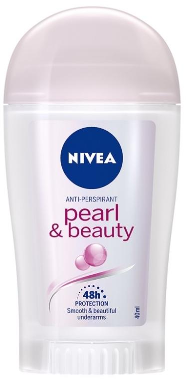"Deodorant stick ""Frumusețea perlelor"" - Nivea Pearl & Beauty for Women Deodorant Stick  — Imagine N1"