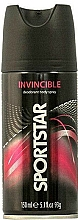 "Parfumuri și produse cosmetice Deodorant spray pentru corp ""Invizibil"" - Sportstar Deo Body Spray Invicible"