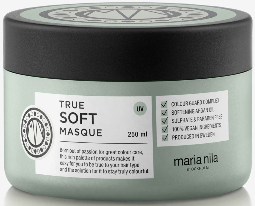 Mască hidratantă de păr - Maria Nila True Soft Masque