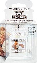Parfumuri și produse cosmetice Aromatizator auto - Yankee Candle Car Jar Ultimate Soft Blanket
