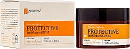 Parfumuri și produse cosmetice Loțiune de protecție solară pentru corp - Phenome Outdoor Defense Protective Body Lotion SPF 15