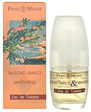 Parfumuri și produse cosmetice Frais Monde White Musk And Mandarin Orange - Apă de toaletă
